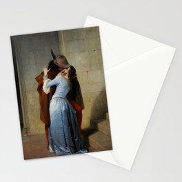 The Kiss (Il Bacio) - Francesco Hayez 1859 Stationery Cards