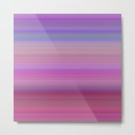 Girly gradient Metal Print