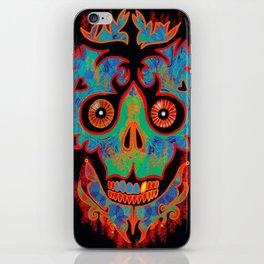 Kade Skully iPhone Skin