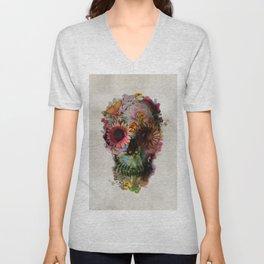 Skull 2 R Unisex V-Neck