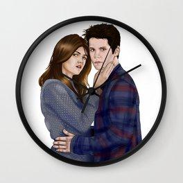 Hold Me - Stalia Wall Clock