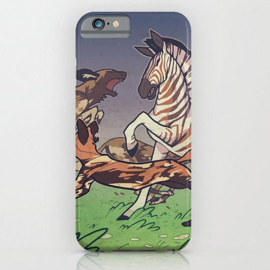 African Wild Dog iPhone & iPod Case