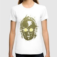 c3po T-shirts featuring C3PO by Peyeyo