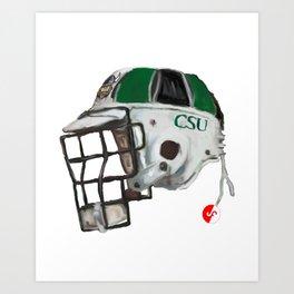 CSU Bucket Art Print