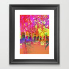 Multiplicitous extrapolatable characterization. 19 Framed Art Print