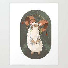 Baa Ba Ba Ram Art Print