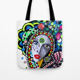 SERPENTINA COLORIDA Tote Bag