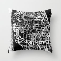 NEW YORK CITY MAP Throw Pillow