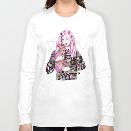 EMBRACE by Kris Tate and Ola Liola  Long Sleeve T-shirt