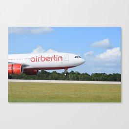 Air Berlin Canvas Print
