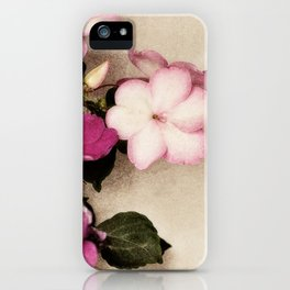 spring pink iPhone Case