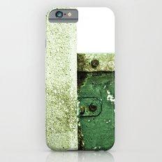 White Green Concrete iPhone 6s Slim Case