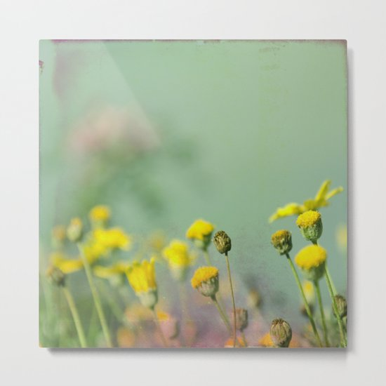 Yellow nostalgia Metal Print