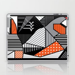 zebra finches Laptop & iPad Skin