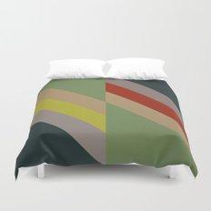 Modernist Geometric Graphic Art Duvet Cover