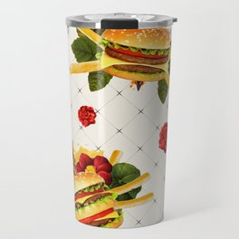 cheeseburger in gangstas paradise Travel Mug