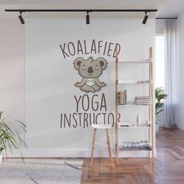 Koalafied Yoga Instructor Wall Mural