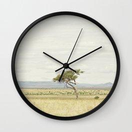 tree of life::kenya Wall Clock