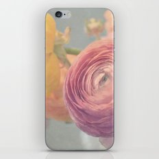 Stop and Smell the Ranunculus iPhone & iPod Skin
