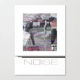 NOISE Canvas Print