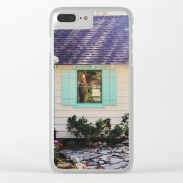 Stevie's Lake Tahoe Cottage Clear iPhone Case