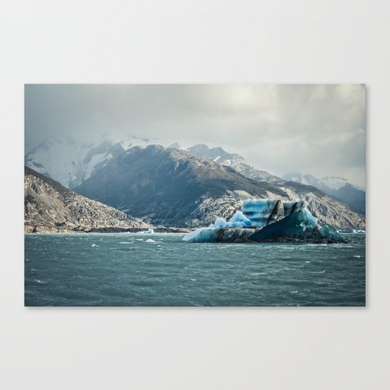 Ice Sea 4 Canvas Print