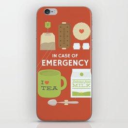 Emergency Tea iPhone Skin