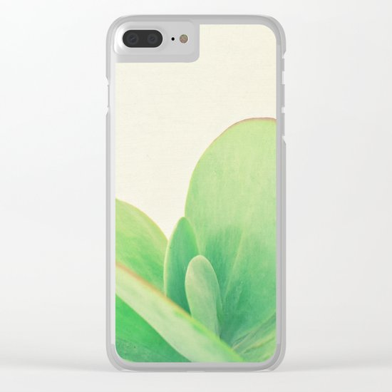Paddle Plant Clear iPhone Case