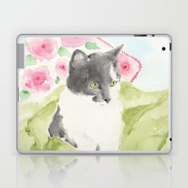 Miss Green Eyes Laptop & iPad Skin