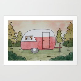 Home is Where You Park It Art Print