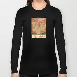 Cactus Tarot Cards- Prickly Pear Long Sleeve T-shirt