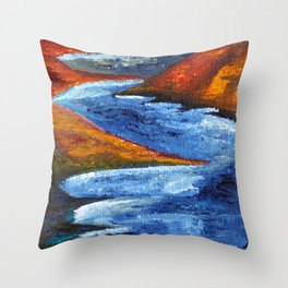 Skog and Fjell #1 Throw Pillow