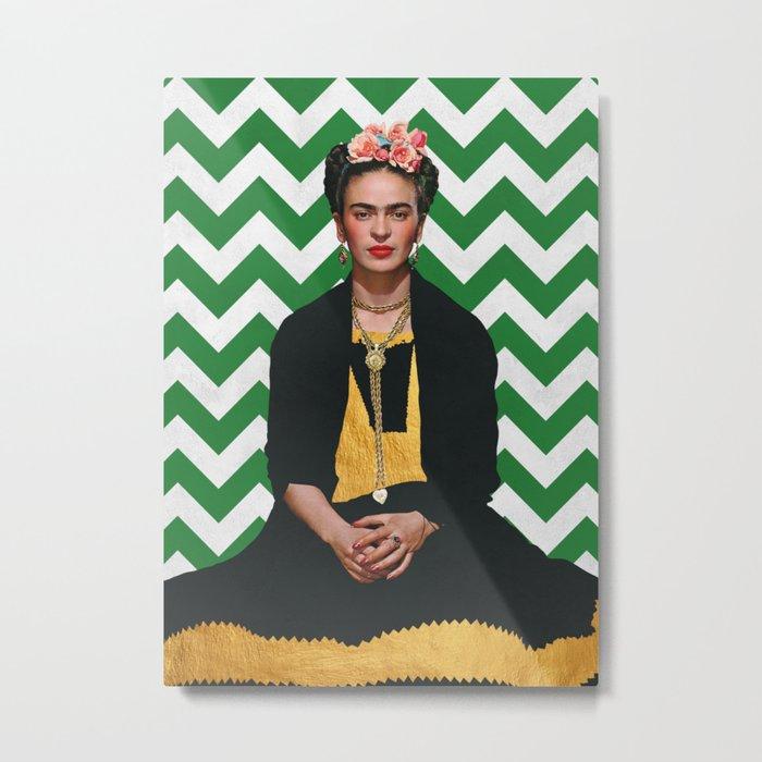 Frida Kahlo Photography I Metal Print