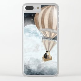moonlight kisses Clear iPhone Case
