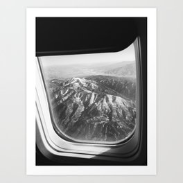 View of Mountains Art Print