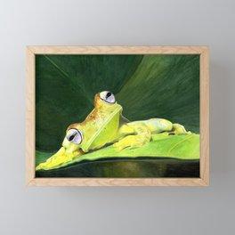 Peep-a-Cheep Framed Mini Art Print