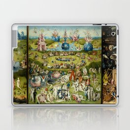 Hieronymus Bosch The Garden Of Earthly Delights Laptop & iPad Skin
