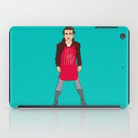 murray iPad Cases featuring Grill Murray  by Chelsea Herrick
