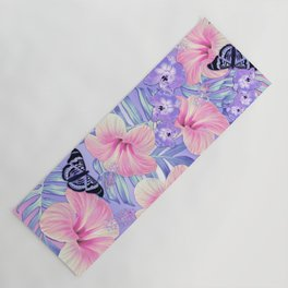Tropical Spring Lavender Yoga Mat