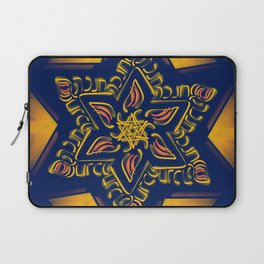Hanukkah Star of David - 2 Laptop Sleeve
