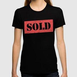 SOLD | Realtor & Real Estate Stamp T-shirt