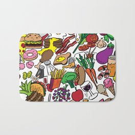 Foodie Bath Mat