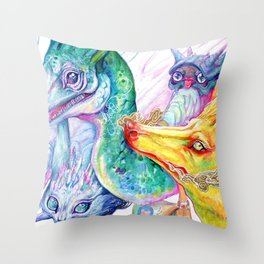 PMD Team Throw Pillow