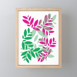 Leaf Framed Mini Art Print