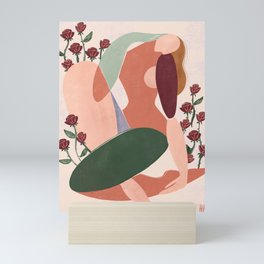 But first love yourself Mini Art Print