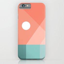 Geometric Landsape 12 iPhone Case