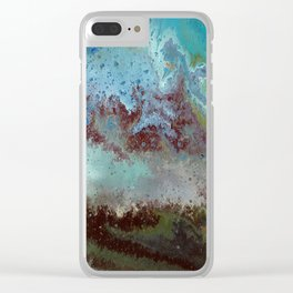 Galaxy Far Away Clear iPhone Case