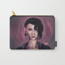 The Girl With The Dragon Tattoo Carry-All Pouch