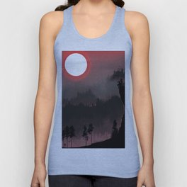 Hunters Moon/Dark Forest Unisex Tank Top