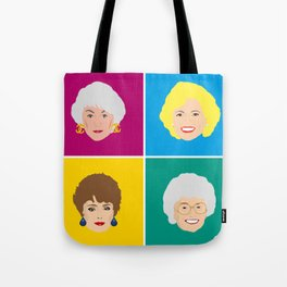 The Golden Girls - Pop Art Style Tote Bag